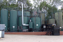 MTB waste oil treatment silos